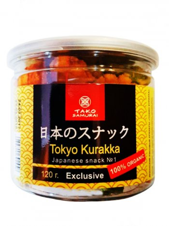 "Японские рисовые крекеры ""Токио Куракка"", 120гр."