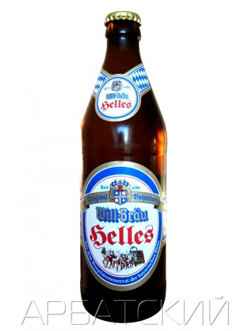 Вилл-Брау Хеллес / Will-Brau Helles 0,5л. алк.5%