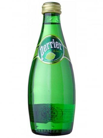 Вода Перье Лайм / Perrier Lime 0,33л.