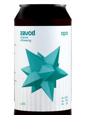 Завод АПА / Zavod APA 0,33л. алк.5,5% ж/б.