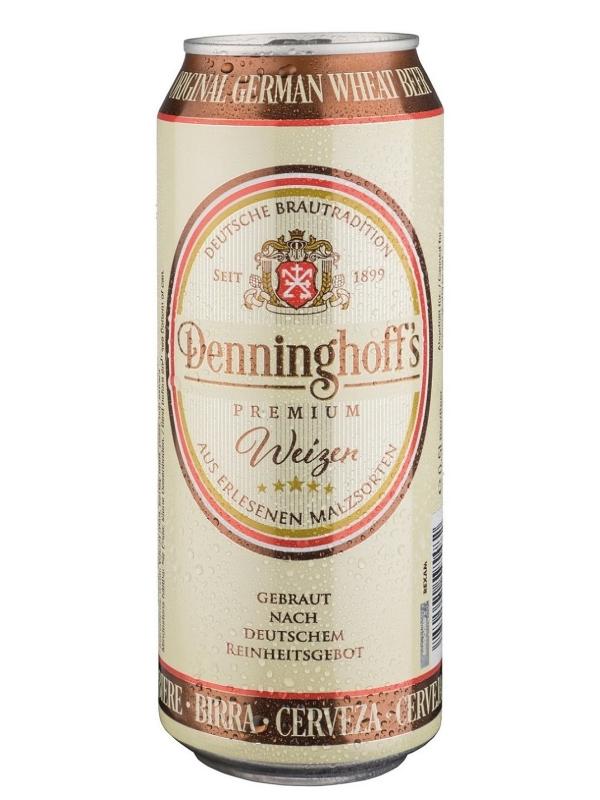 Деннингхоффс Вайзен / Denninghoffs Weizen 0,5л. алк.5,3% ж/б.