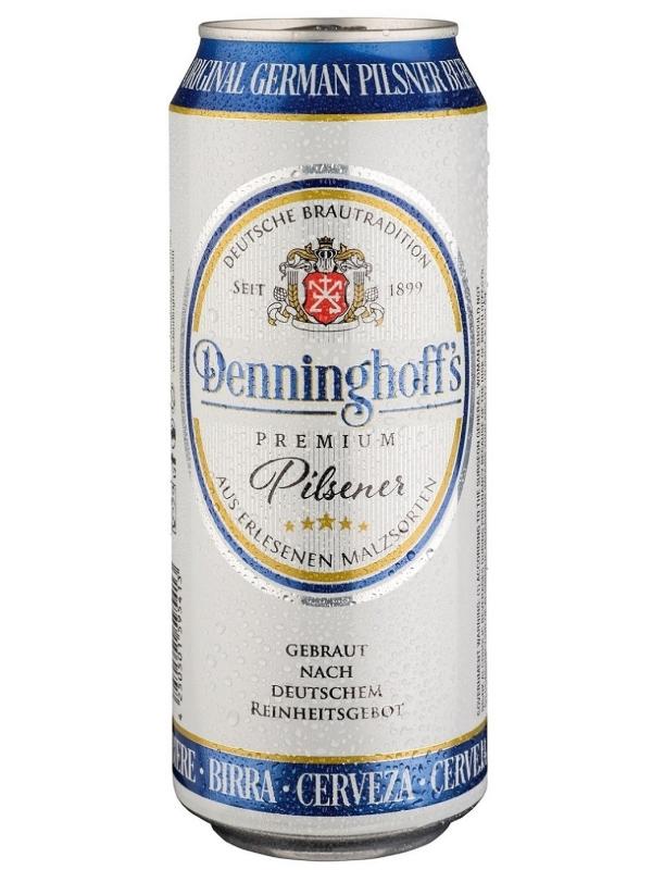 Деннингхоффс Пилснер / Denninghoffs Pilsner 0,5л. алк.4,9% ж/б.