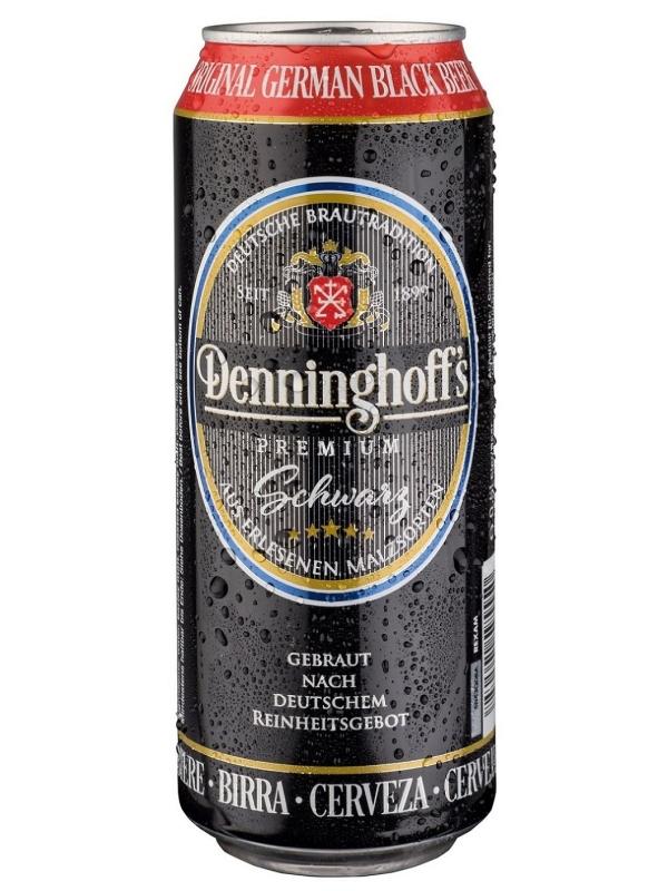 Деннингхоффс Шварц / Denninghoffs Schwarz 0,5л. алк.4,9% ж/б.