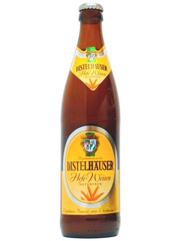 Дистельхойзер Хефе Вайцен / Distelhauser Hefe Weizen 0,5л. алк.5,4%