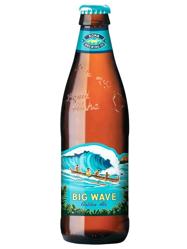 Конна Биг Вейв / Kona Big Wave Golden Ale 0,355л. алк.4,4%