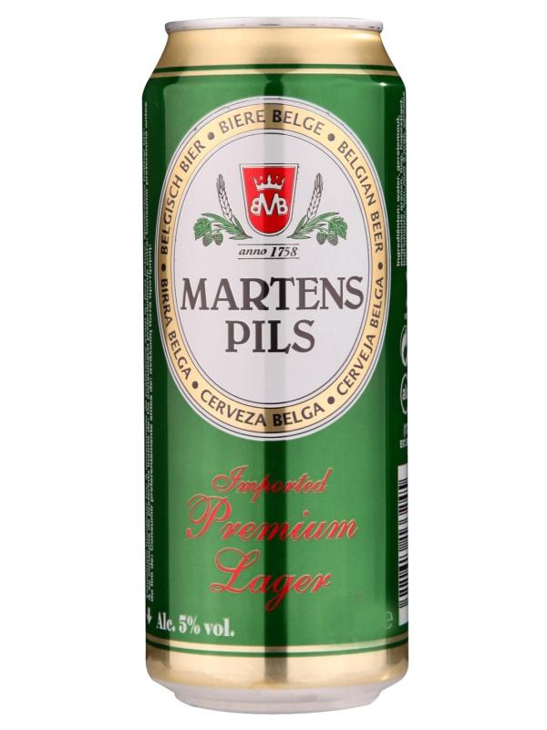 Мартенс Пилснер / Martens Pilsener 0,5л. алк.5% ж/б.