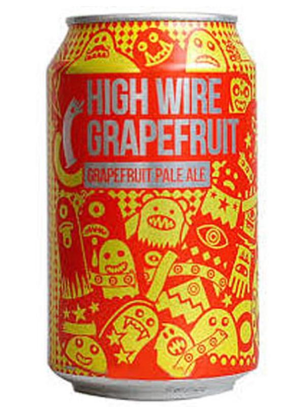 Мэйджик Рок Хай Уайп Грейпфрут / Magic Rock High Wire Grapefruit 0,33л. алк.5,5% ж/б.