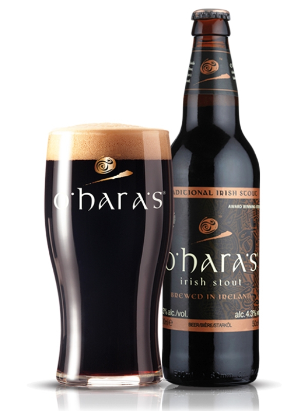 О`Хара Айриш Стаут / O`Hara`s Irish Stout 0,5л. алк.4,3%