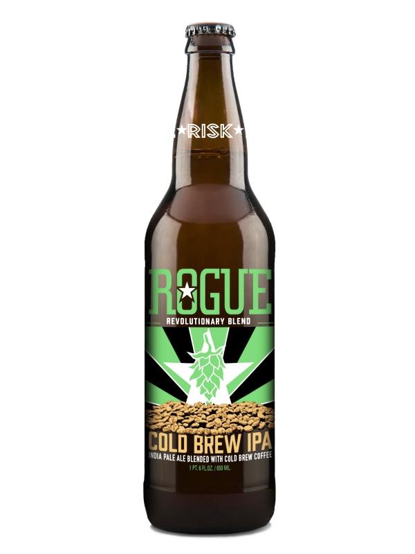 Роуг Колд Брю ИПА / Rogue Cold Brew IPA  0,355л. алк.7,5% ж/б.