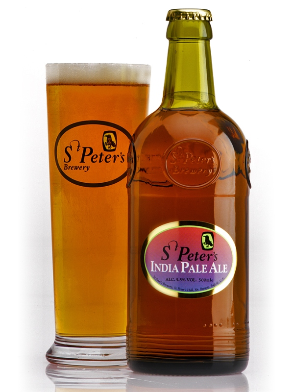 Ст.Петерс Индиа Пэйл Эль / St. Peter's India Pale Ale 0,5л. алк.4,5%