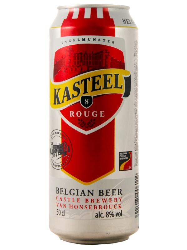 Ван Хонзебрук Кастил Руж / Kasteel Rouge 0,5л. алк.8% ж/б.