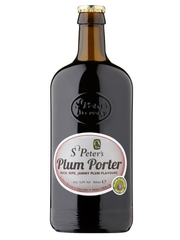 Ст.Петерс Сливовый портер / St. Peter's Plum Porter 0,5л. алк.5%