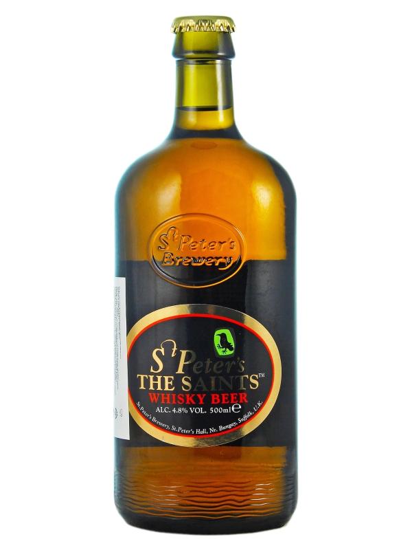 Ст.Петерс Сэйнтс Виски бир / St. Peter's The Saints Whisky Beer 0,5л. алк.4,8%