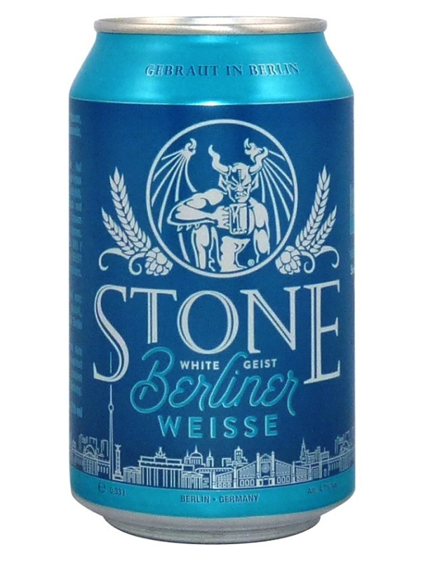 Стоун Берлинер Вайс / Stone Berliner Weisse 0,33л. алк.4,7% ж/б.