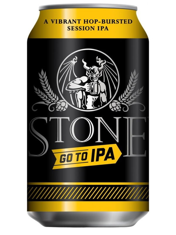 Стоун Гоу Ту ИПА / Stone Ruination Go To IPA 0,33л. алк.4,7% ж/б.