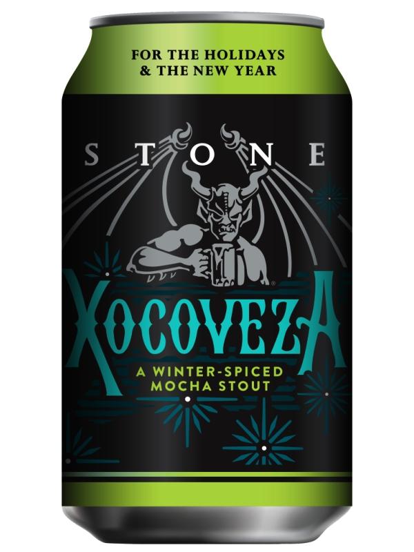 Стоун Чоковеса Мокка Стаут / Stone Xocoveza Mocha Stout 0,33л. алк.8,1% ж/б.