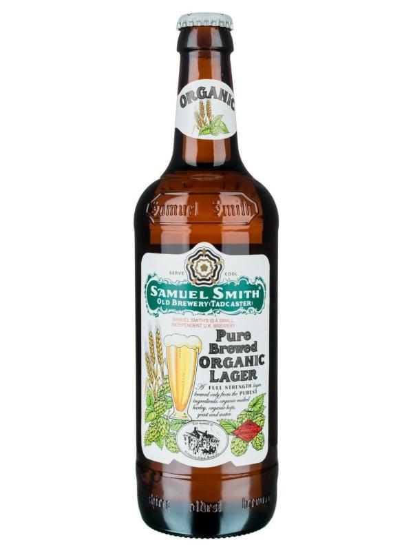 Сэмюэл Смит_с Пьюр Брюд Органик Лагер / Samuel Smith_s Pure Brewed Organic Lager 0,355л. алк.5%