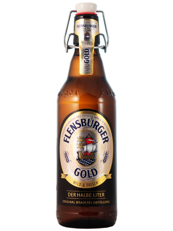 Фленсбургер Голд / Flensburger Gold 0,5л. алк.4,8%