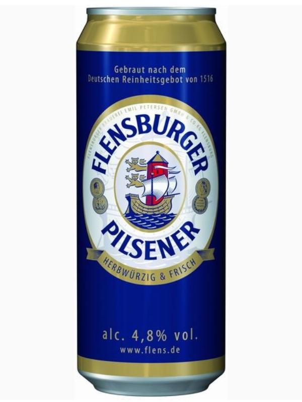 Фленсбургер Пилснер / Flensburger Pilsener 0,5л. алк.4,8% ж/б.