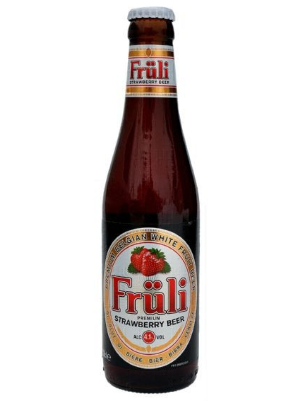 Фрули Строберри / FRULI STRAWBERRY 0,33л. алк.4,1%