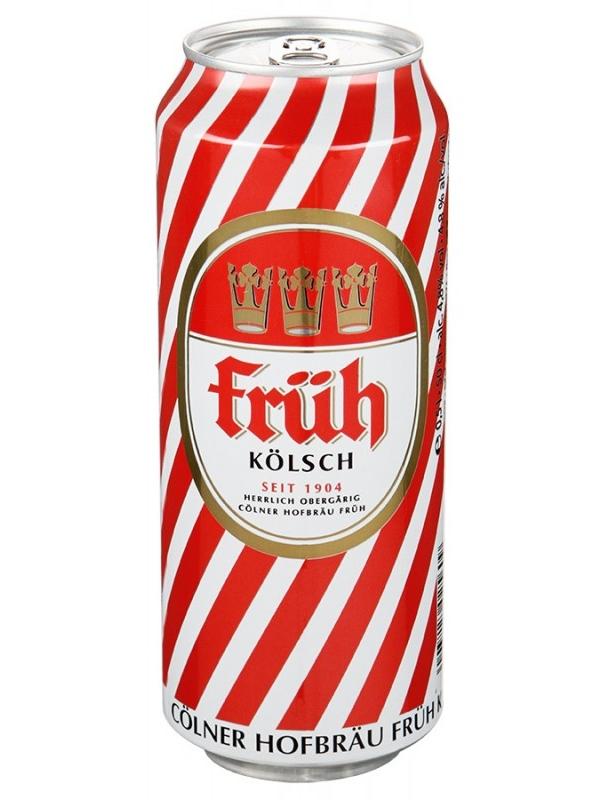 Фрюх Кельш / Fruh Kolsch 0,5л. алк.4,8% ж/б.