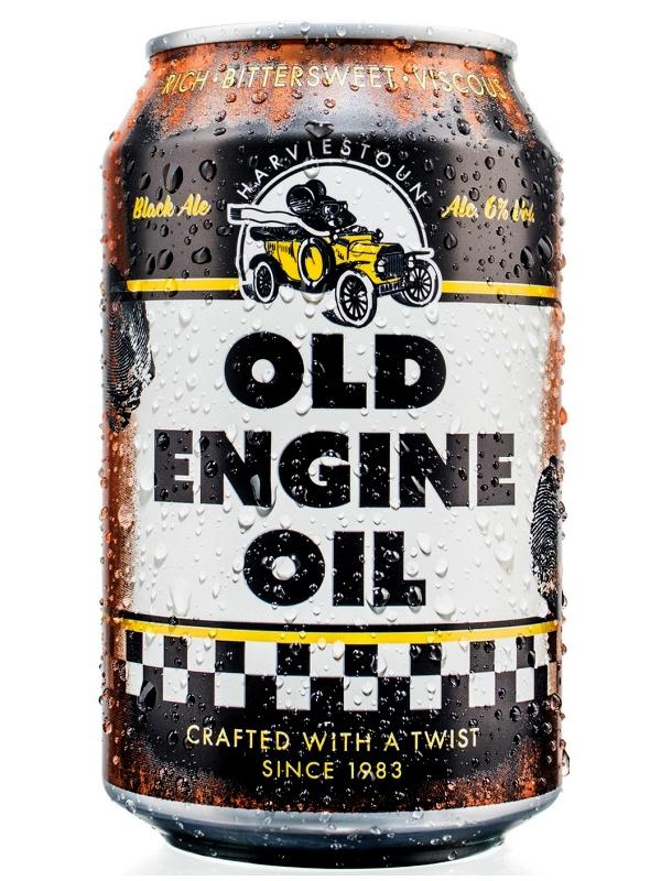 Харвистон Олд Энжин Ойл / Harviestoun Old Engine Oil 0,33л. алк.6% ж/б.
