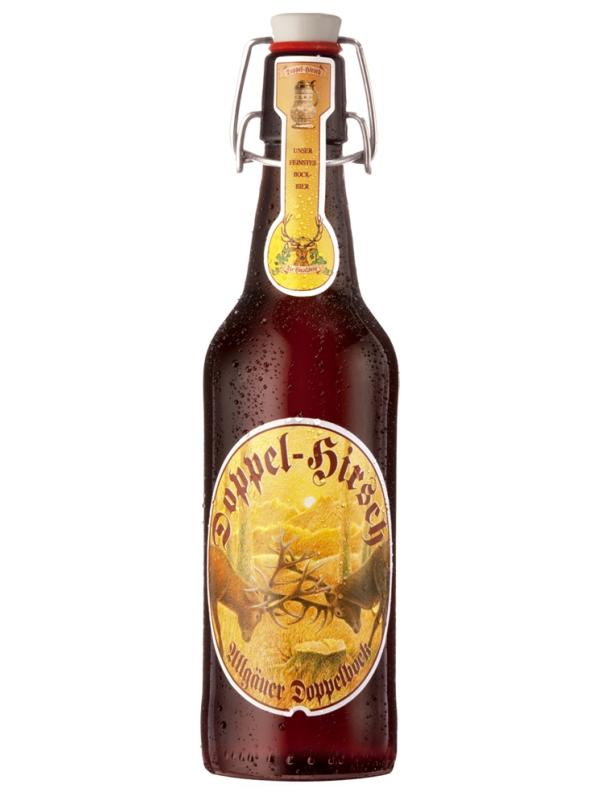Хиршбрауерай Допель Хирш (Два оленя) / Hirschbrau Doppel Hirsch 0,5л. алк.7,2%