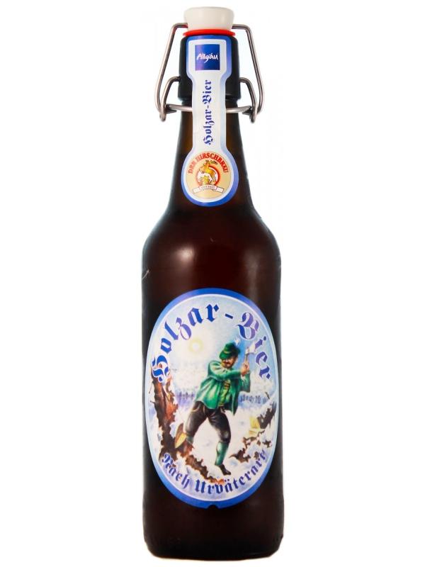 Хиршбрауерай Холцар Бир (Пиво Дровосека) / Hirschbrau Holzar Bier 0,5л. алк.5,2%