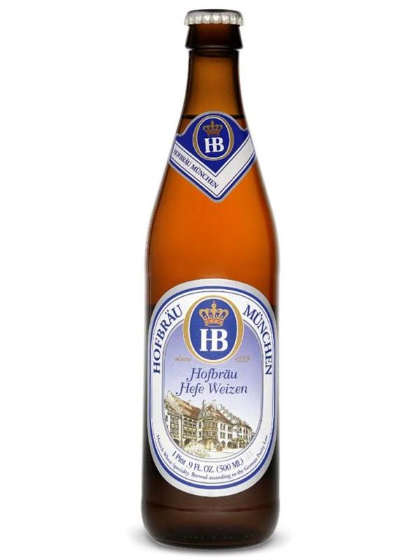 Хофброй Мюнхен Хефе Вайс / Hofbrau Munchner HefeWeisse 0,33л. алк 5.1%