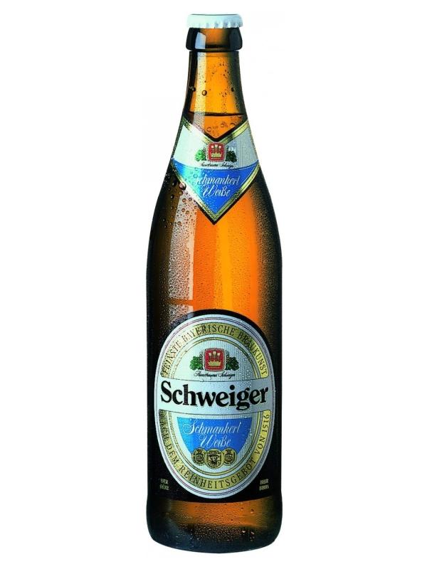 Швайгер Оригинал Шманкерль Вайссе / Schweiger Original Schmankerl Weibe 0,5л. алк.5,1%