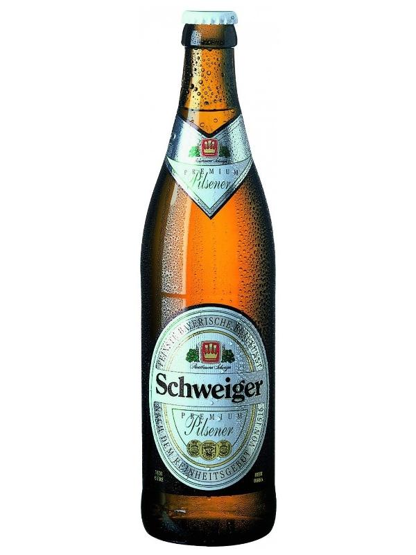 Швайгер Премиум Пилснер / Schweiger Premium Pilsner 0,5л. алк.4,8%