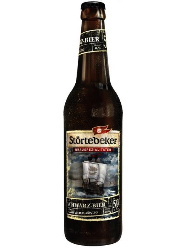 Штертебекер Шварцбир / Stroertebeker Schwarzbier 0,5л. алк.5%