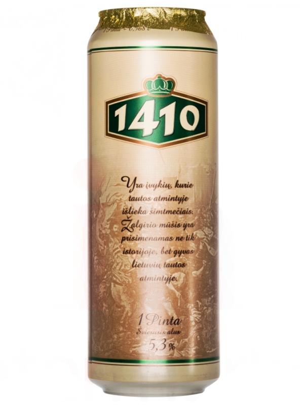 1410 / Sviesusis Alus 0,568л. алк.5,3% ж/б.