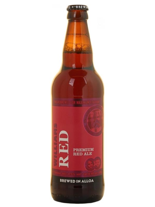 Вильямс Ред Премиум / Williams Red Premium Ale 0,5л. алк.4,5%