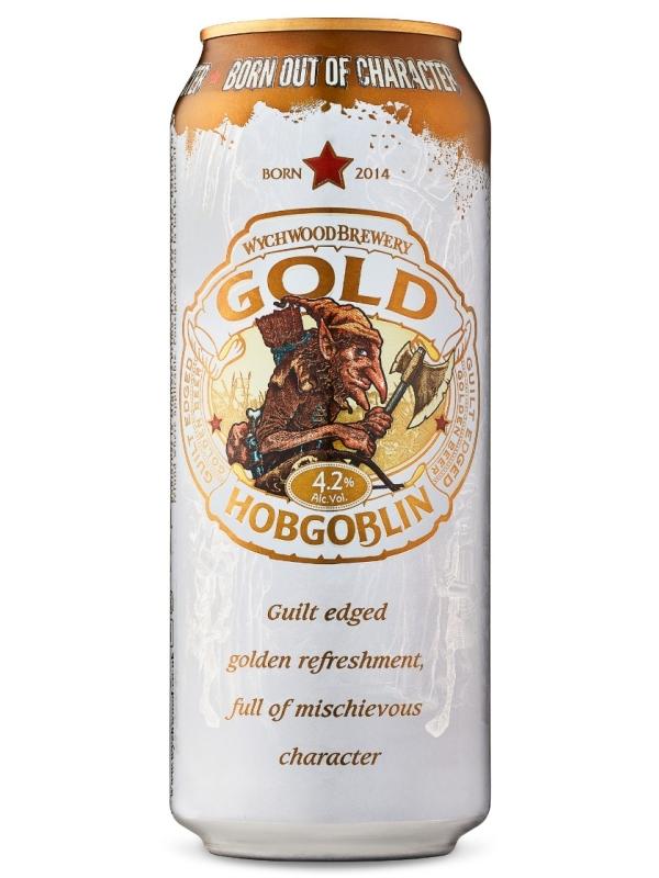 Вичвуд Хобгоблин Голд / Wychwood Hobgoblin Gold 0,5л. алк.4,2% ж/б.
