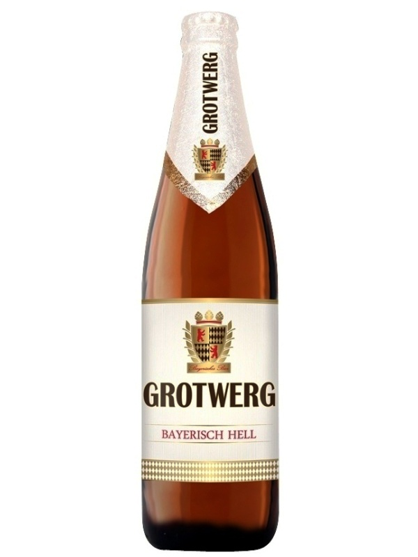 Гротверг Байриш Хель / Grotwerg Bayerisch Hell 0,5л. алк.4,9%