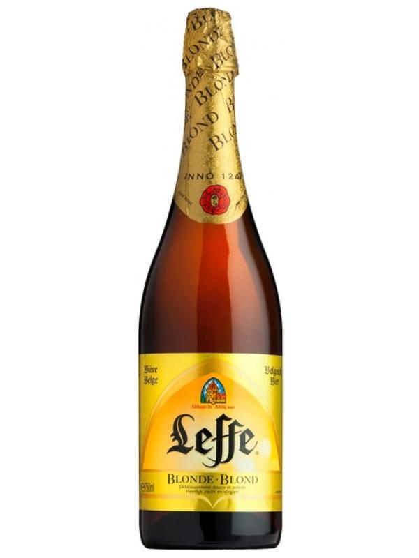 Леффе Блонд / Leffe Blonde 0,75л. алк.6,6%