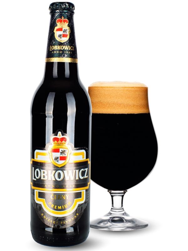 Лобковиц Премиум Черни / Lobkowicz Premium Cherny 0,5л. алк.4,7%