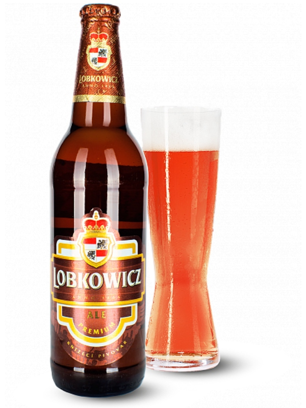Лобковиц Премиум Эль / Lobkowicz Premium Ale 0,5л. алк.4,4%
