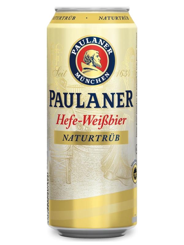 Пауланер Хефе-Вайсбир / Paulaner Hefe-Weissbier 0,5л. алк.5,5% ж/б.