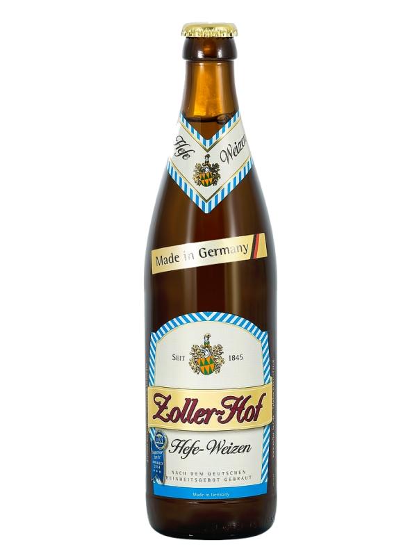 Цоллер-Хоф Хефевайзен / Zoller - Hof Hefe-Weizen 0,5л. алк.5,1%