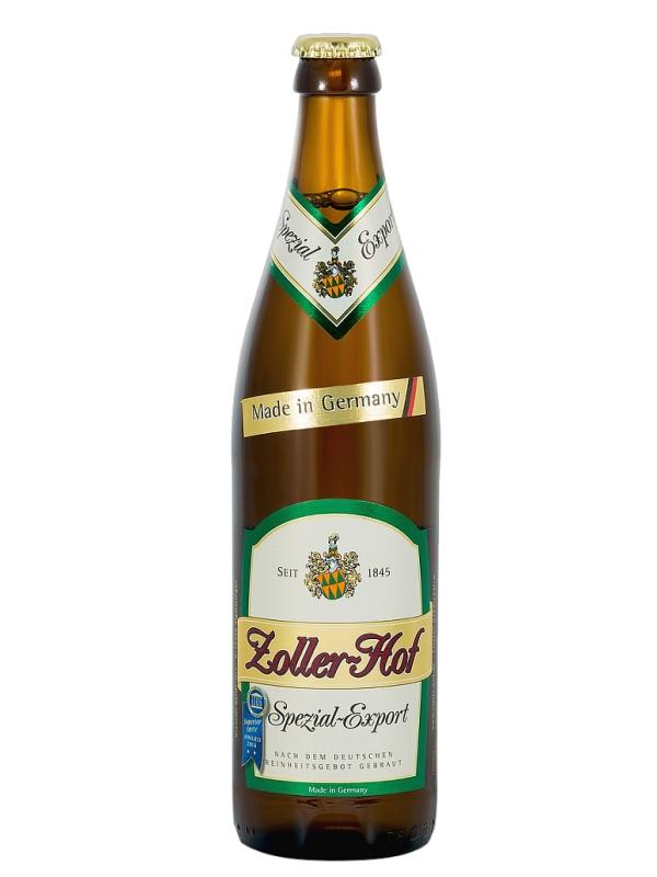 Цоллер-Хоф Специальное-Экспорт/Zoller - Hof Spezial Export 0,5л. алк.5,5%