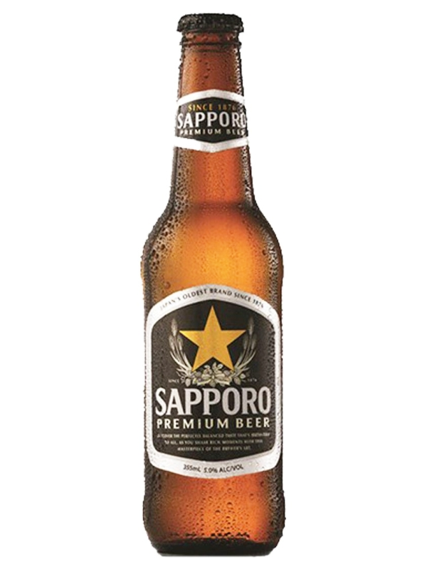 Саппоро / Sapporo 0,33л. алк.4.7%,
