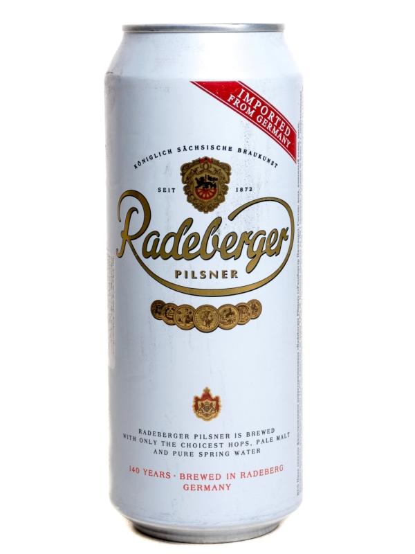 Радебергер / Radeberger Pilsner 0,5л. алк.4,8% ж/б