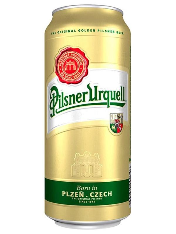 Пилзнер Урквелл / Pilsner Urquell 0,5л. алк.4,4% ж/б.