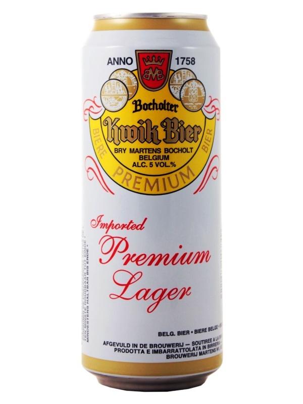 Бохольтер Квик Бир / Bocholter Kwik Bier 0,5л. алк.5% ж/б.