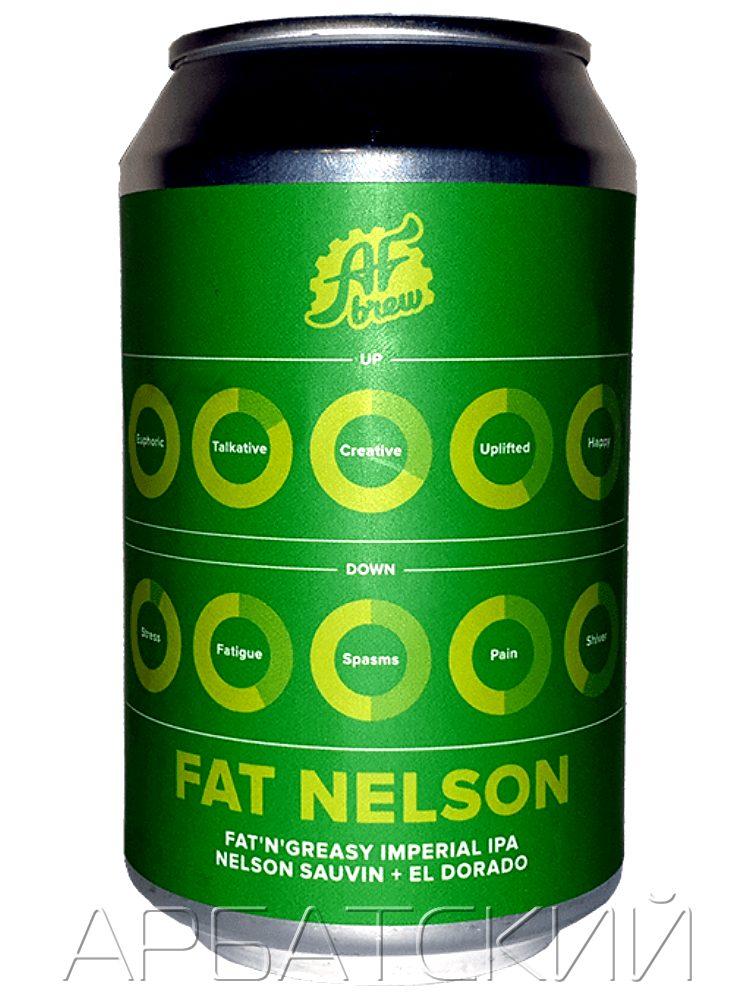 АФ Брю Фэт Нельсон / AF Brew Fat Nelson 0,33л. алк.10% ж/б.