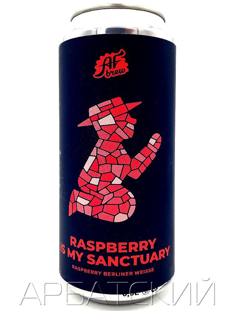 АФ Брю Расберри из май Сэнкчуари / AF Brew Raspberry Is My Sanctuary 0,5л. алк.5,3% ж/б.