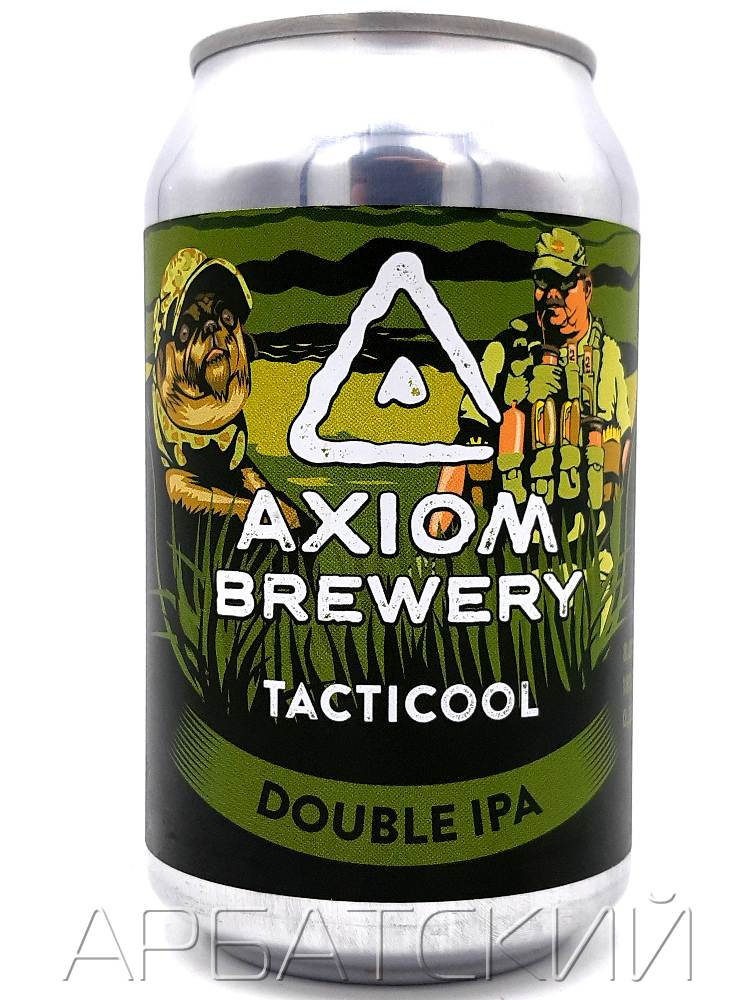 Аксиом Тактикул / Axiom Tacticool 0,33л. алк.8% ж/б.