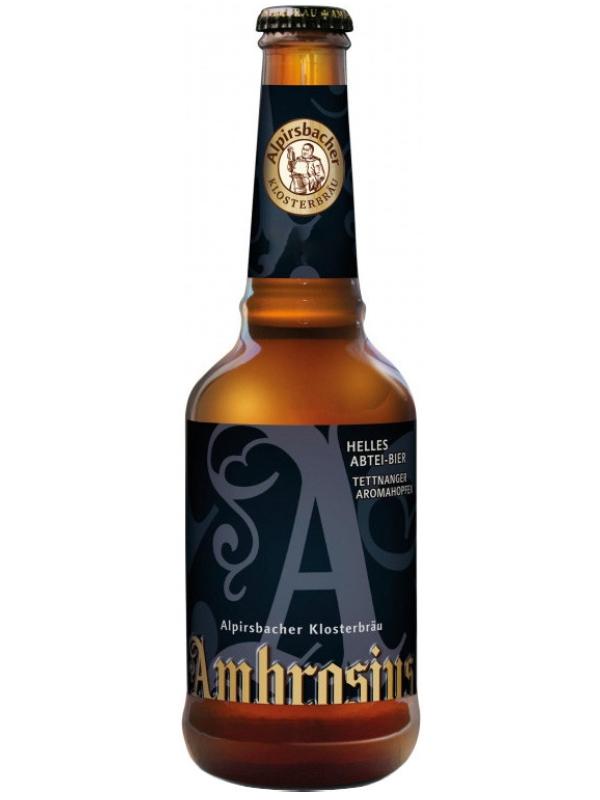 Алпирсбахер Клостерброй Амбросиус / Alpirsbacher Klosterbraeu Ambrosius 0,33л. алк.7,7%